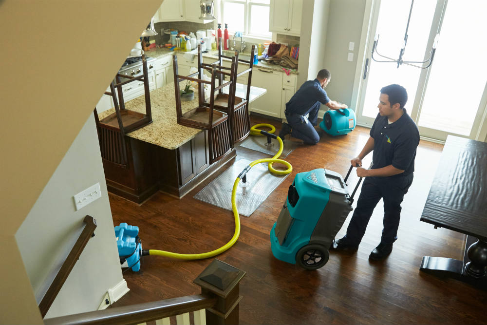 Water Damage Restoration & Cleanup Services